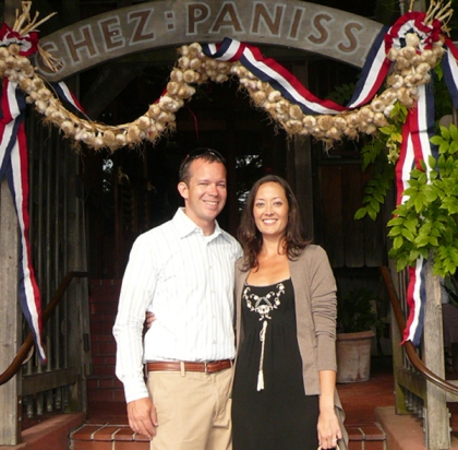MK & NMR Chez Panisse (Cropped) 2009 Jul 18 081